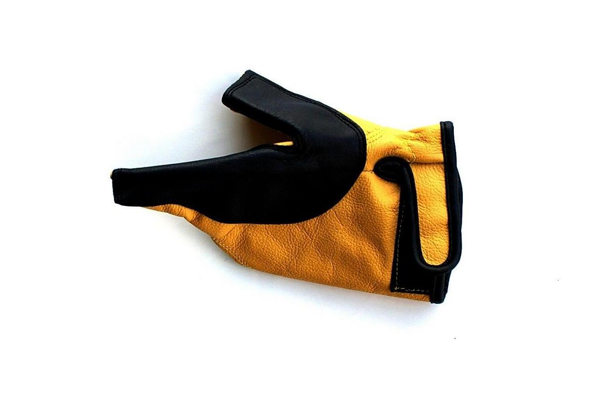 Rukavice pro tradiční střelbu přes ruku-žlutá